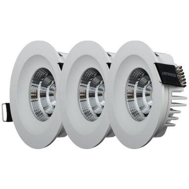 Designlight QB-305MW Downlight fast, 3-pack