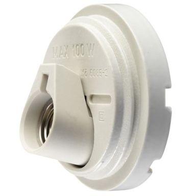 Ifö Electric 6085-000-10 Kanta valkoinen, lasiton