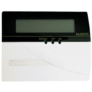 DSC 100020 Manöverpanel med textdisplay
