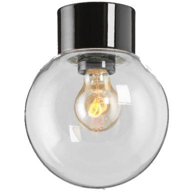 Ifö Electric Classic Glob 180 Takarmatur IP54, rak, E27, rak