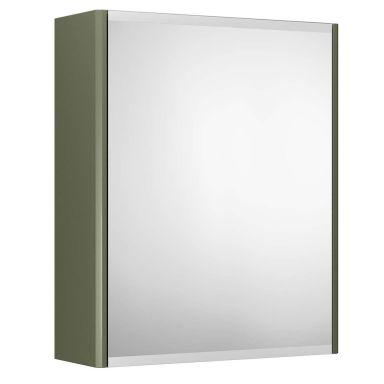 Gustavsberg Graphic Spegelskåp grön, dubbelsidig