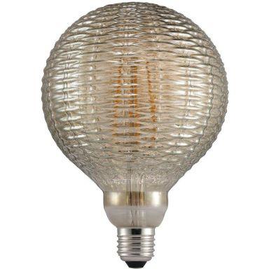 Nordlux AVRA Bamboo Smoke LED-filamentlampa E27