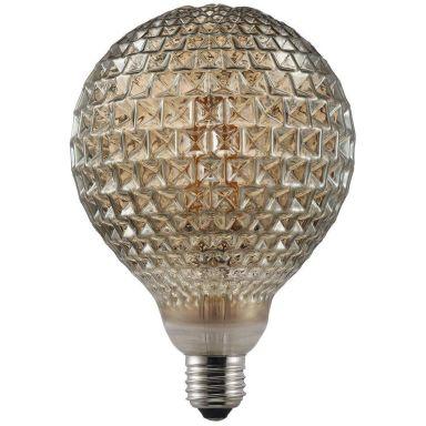 Nordlux AVRA Dent Smoke LED-filamentlampa E27