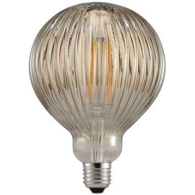 Nordlux AVRA Stripes Smoke LED-filamentlampa E27