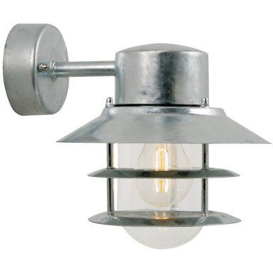 Nordlux BLOKHUS 25051031 Väggarmatur galvaniserad, E27, 60W, IP54