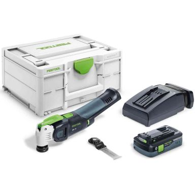 Festool OSC 18 HPC 4,0 EI-Plus VECTURO Multiverktyg med batteri och laddare