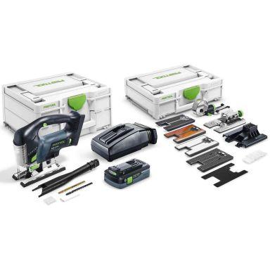 Festool PSBC 420 HPC 4,0 EBI-Set CARVEX Pistosaha sis. akun ja laturin