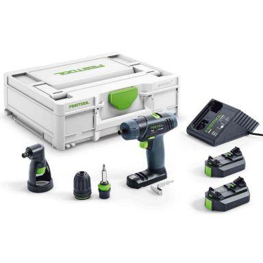 Festool TXS 2,6-Set Skruvdragare med batterier och laddare