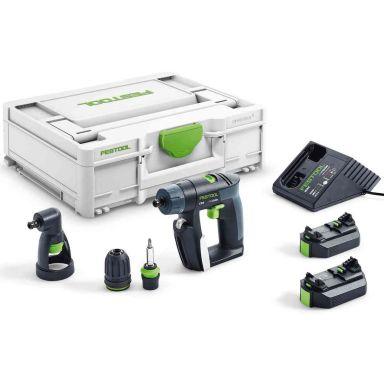 Festool CXS 2,6-Set Skruvdragare med batterier och laddare