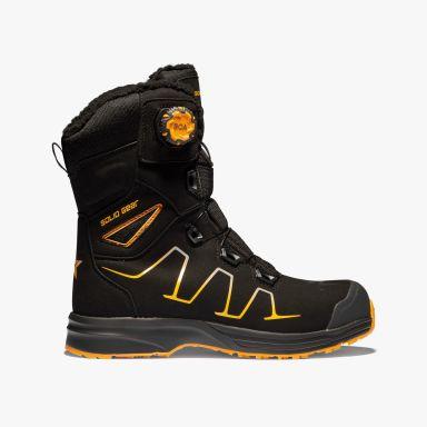 Solid Gear Shore Vernestøvler S3, svart, vinter