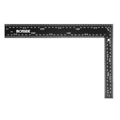 Ironside 102548 Stålvinkel svart