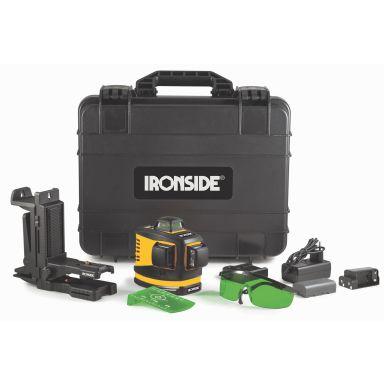 Ironside 102494 Krysslaser med grønn laser
