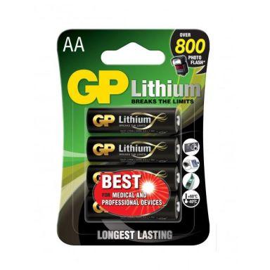 GP Batteries 15LF-2U4 Litiumbatteri 1.5V, 4-pack