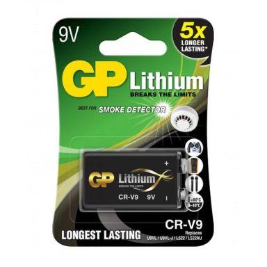 GP Batteries CRV9SD-2U1 Litiumbatteri 9V