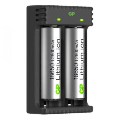 GP Batteries 18650 Batterilader Li-ion