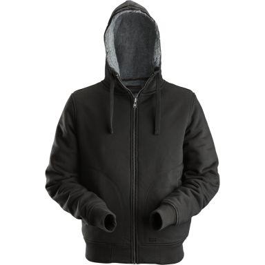 Dunderdon S18 Sweatshirt svart, med dragkedja