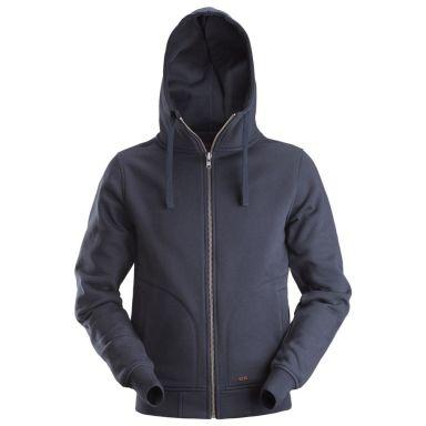 Dunderdon S18 Sweatshirt marinblå, med dragkedja