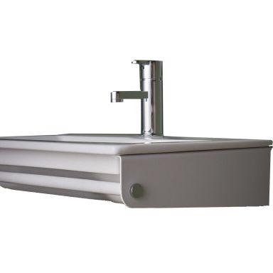 Gustavsberg Graphic Tvättställskonsol vit, för väggmontage