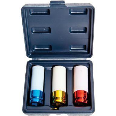 GELINS-KGK 4202012 Hylsysarja 17, 19, 21 mm