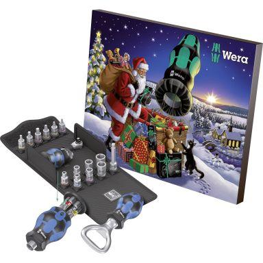 Wera 136601 Julkalender Ruuvimeisselisarja 24 osaa