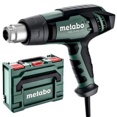 Metabo HGE 23-650 Varmluftspistol 2,3 kW, med MetaBox 145