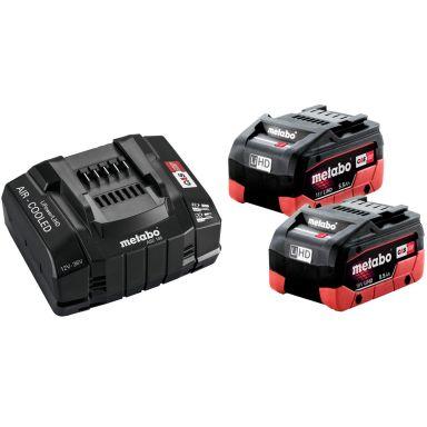 Metabo 685190000 Laddpaket 2 st. batterier 5.5 Ah + 1 st. snabbladdare