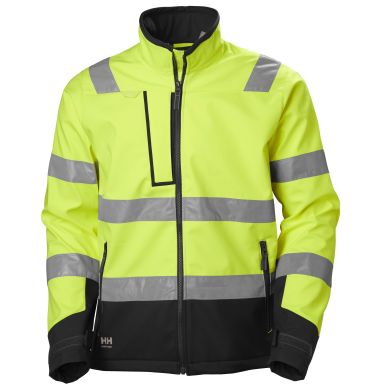 Helly Hansen Workwear Alna 2.0 Softshelljakke gul, varsel