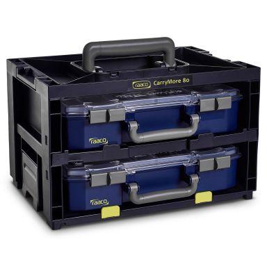 Raaco Carrymore Komplett Oppbevaringsboks Carrymore med 2 stk CL 80 4X8-9