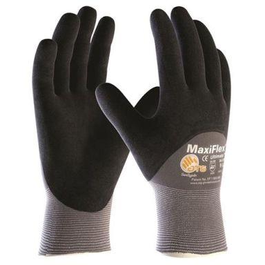 Maxiflex Ultimate 34-875 Asennuskäsine harmaa/musta, puolipinnoitettu