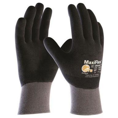 Maxiflex Ultimate 34-876 Asennuskäsine harmaa/musta, täysin pinnoitettu