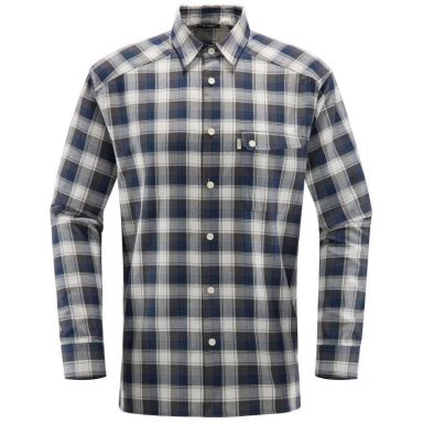 Haglöfs Tarn Skjorta svart/blå, flanell