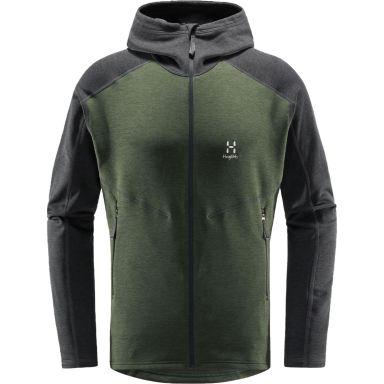 Haglöfs Heron Tröja grön/grå