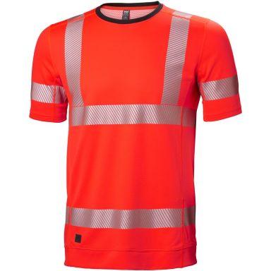 H/H Workwear Lifa Active T-shirt varsel, röd