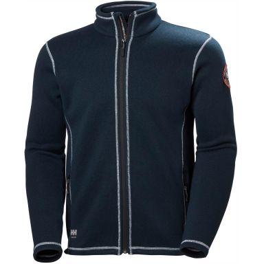 Helly Hansen Workwear Hay River Fleecejacka marinblå