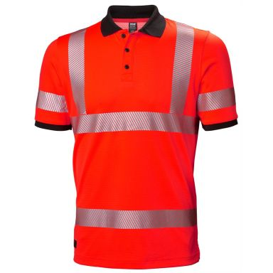 H/H Workwear Lifa Active Pikétröja varsel, orange