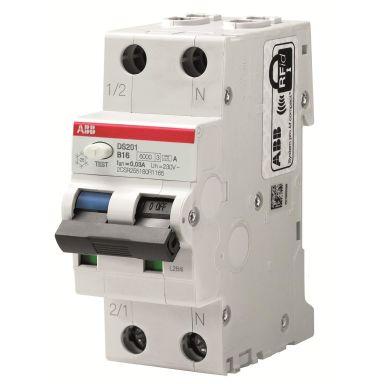ABB 2CSR255180R2324 Jordfeilautomat 6 kA, C-karakteristikk, type A DS201