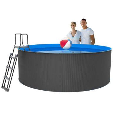 Swim & Fun Santorini Poolpaket Ø3,5 x 0,9 m, 8 150 L