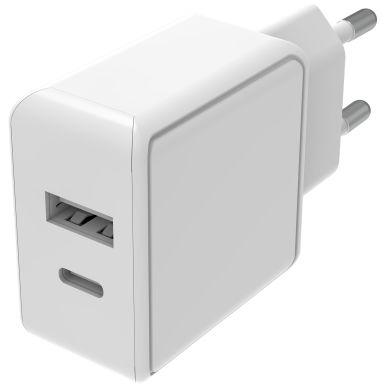Smartline 4000146791 USB-laddare 100-240 V, USB-A, USB-C, exklusive kabel