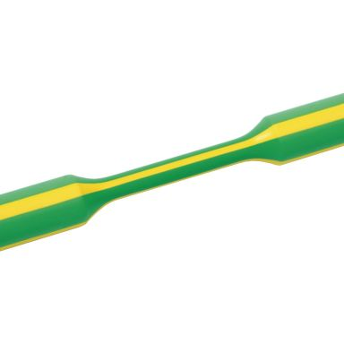 Hellermann Tyton 319-00607 Krympslang gul/grön, 3:1