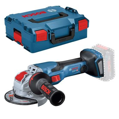 Bosch GWX 18V-15 C Vinkelslip utan batteri och laddare, i L-BOXX