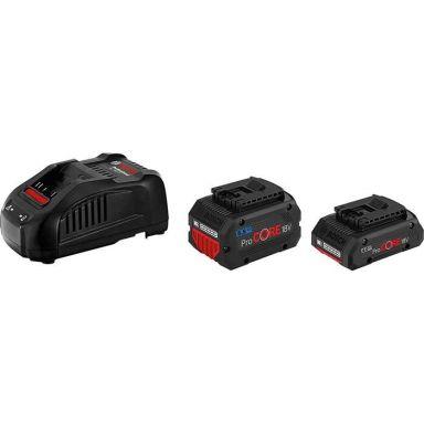 Bosch ProCORE 18V 1X4,0 AH / 1X5,5 AH Laddpaket 4.0Ah + 5.5Ah, med laddare