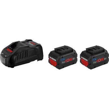 Bosch ProCORE 18V 5,5 AH Laddpaket 2 x 5.5Ah, med laddare