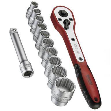 Teng Tools M1413N1 Hylsnyckelsats 13 delar