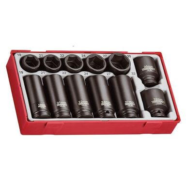 """Teng Tools TT9212 Krafthylssats 1/2"""", 12 delar"""
