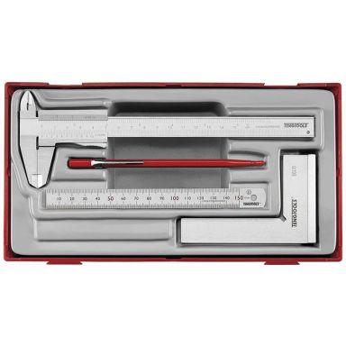 Teng Tools 270170103 Mätsats 4 delar