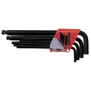 Teng Tools 112260104 Insexnyckelsats 13 st. 1,27-10 mm
