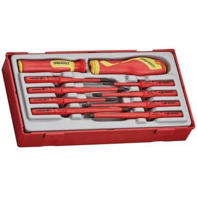 Teng Tools TTV710N Skruvmejselsats 10 delar