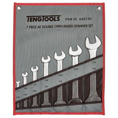 Teng Tools 6607AF U-nyckelsats 7 delar, vikbar väska