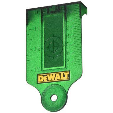 Dewalt DE0730G Måltavla grön