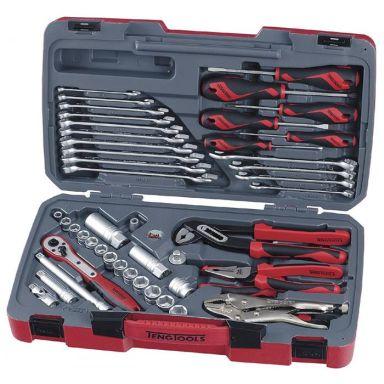 """Teng Tools T3848-P Verktygssats 3/8"""", 48 delar"""
